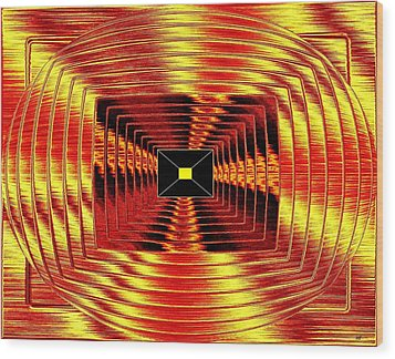 Luminous Energy 12 Wood Print by Will Borden