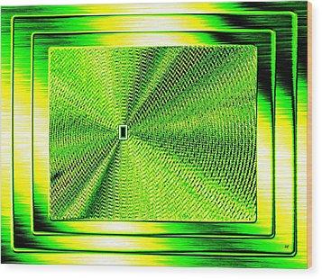 Luminous Energy 14 Wood Print by Will Borden