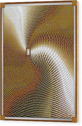 Luminous Energy 16 Wood Print by Will Borden