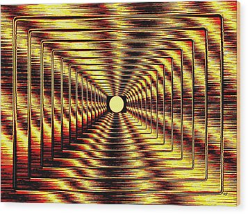 Luminous Energy 2 Wood Print by Will Borden