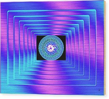 Luminous Energy 9 Wood Print by Will Borden