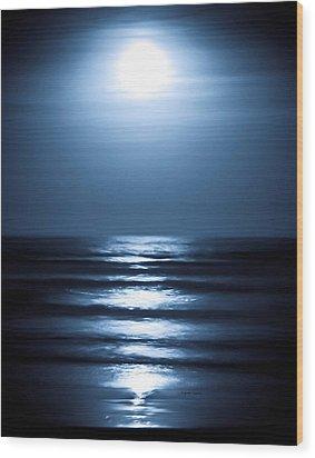 Lunar Dreams Wood Print