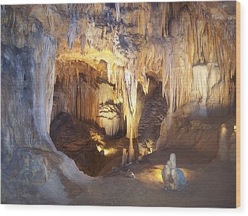 Luray Caverns Wood Print