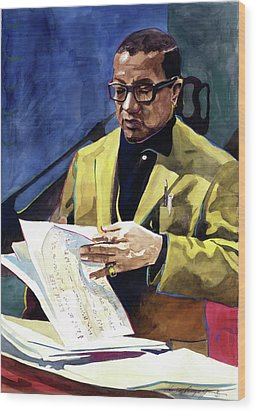Lush Life Billy Strayhorn Wood Print by David Lloyd Glover