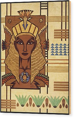 Luxor Deluxe Wood Print by Tara Hutton