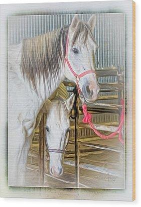 Lvha_ Digital Art Painting #1 Wood Print