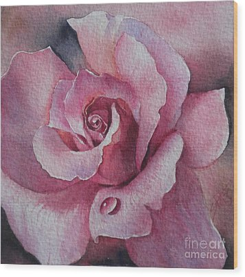 Lyndys Rose Wood Print
