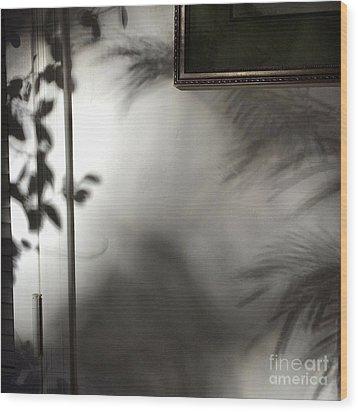 Lysiloma Shadows Wood Print