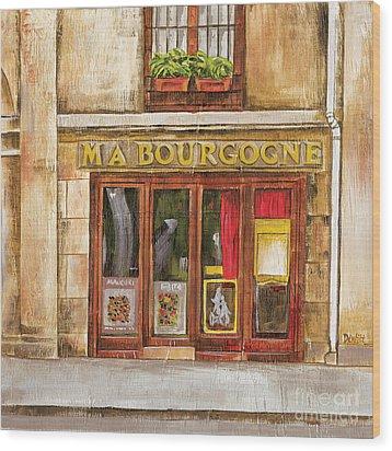 Ma Bourgogne Wood Print by Debbie DeWitt