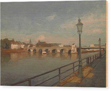 Maastricht Wood Print