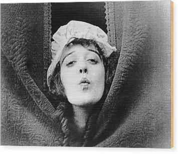 Mabel Normand, Ca. Mid-1910s Wood Print by Everett