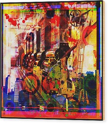 Machine Age-1 Wood Print
