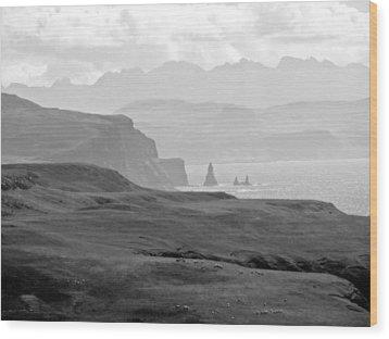 Macleod's Maidens Wood Print by Dan Andersson