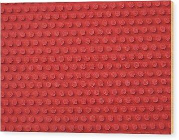 Macro Ping Pong Paddle Texture Wood Print by Nic Taylor