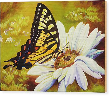 Madame Butterfly Wood Print by Karen Dukes