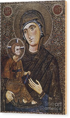 Madonna Icon Wood Print by Granger