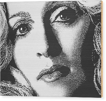 Madonna Wood Print by Max Eberle
