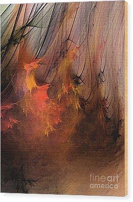 Magic Wood Print by Karin Kuhlmann
