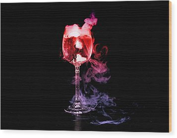 Magic Potion Wood Print by Alexander Butler