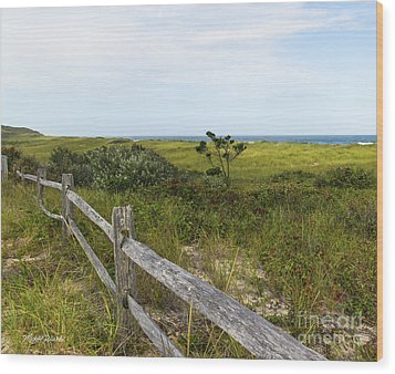 Wood Print featuring the photograph Magical Landscape by Michelle Wiarda