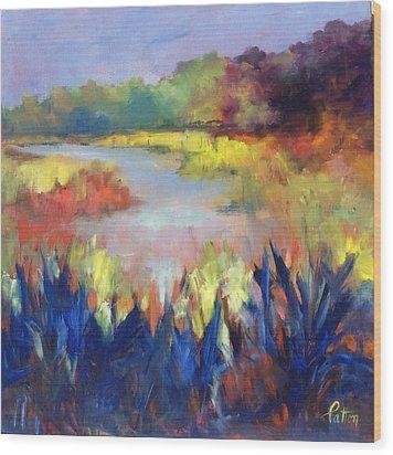 Magical Marsh Wood Print