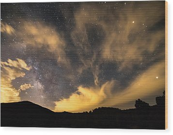 Wood Print featuring the photograph Magical Night by James BO Insogna