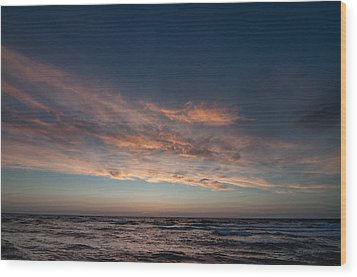 Wood Print featuring the photograph Magical Sunset by Laura Melis