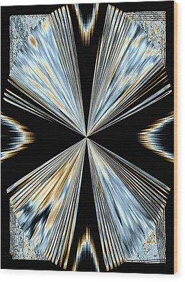 Magnetism 2 Wood Print by Will Borden