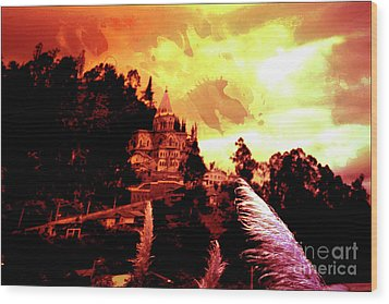 Wood Print featuring the photograph Magnificent Church Of Biblian IIi by Al Bourassa
