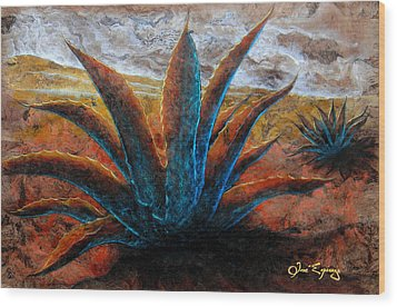 Maguey Wood Print