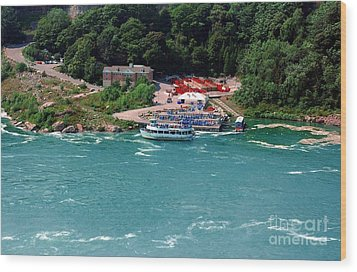 Maid Of The Mist Wood Print by Kathleen Struckle