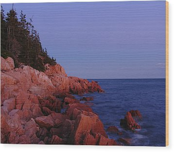 Maine Acadia Np  Wood Print by Juergen Roth