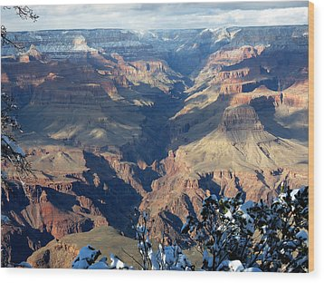 Wood Print featuring the photograph Majestic Grand Canyon by Laurel Powell