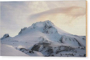 Wood Print featuring the photograph Majestic Mt. Hood by Ryan Manuel