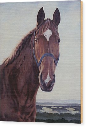 Majestic Roger Wood Print