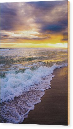 Wood Print featuring the photograph Majestic Sunset In Paradise by Shelby Young