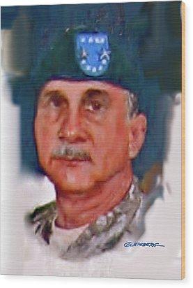 Major General William H. Wade II Wood Print