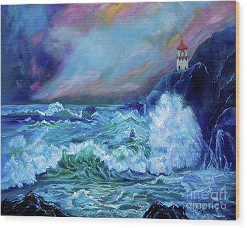 Makapuu Light House Wood Print