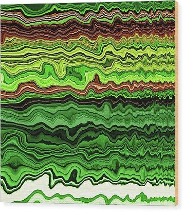 Malachite No. 6-1 Wood Print
