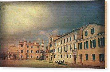 Wood Print featuring the photograph Malamacco Massive Cloud by Anne Kotan