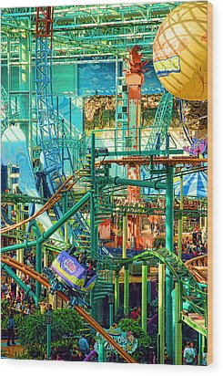 Mall Of America Wood Print by Rich Beer