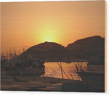 Mallorca 1 Wood Print by Ana Maria Edulescu