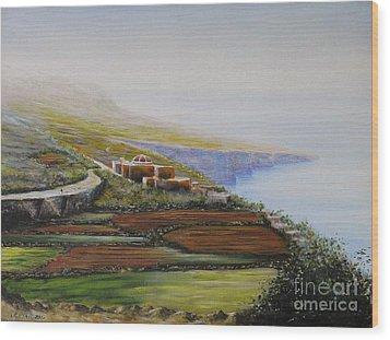 Malta Fawwara Chapel Wood Print