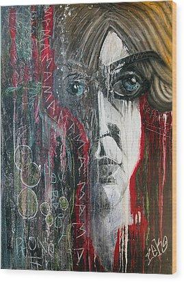 Mama Wood Print