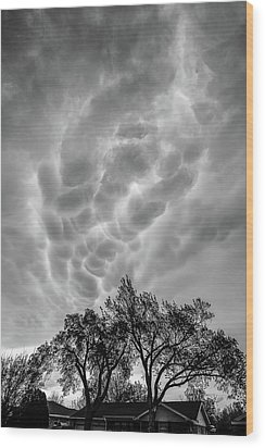 Mammatus Dance Wood Print