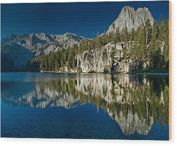 Mammoth Lakes Reflections Wood Print