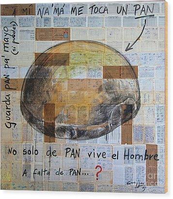 Mana' Cubano Wood Print