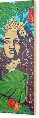 Mana Olana  Means Hope Wood Print by Cheryl Ehlers