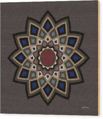 Mandala 1 Wood Print