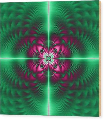 Mandala 7 Wood Print by Sfinga Sfinga